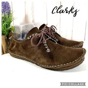Clarks Originals Faraway Fields brown suede 7.5